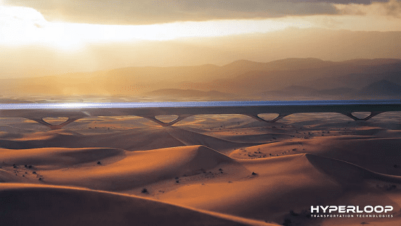 В Абу-Дабі побудують трасу для Hyperloop довжиною 10 кілометрів