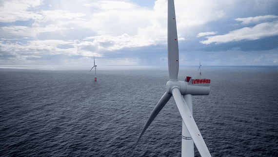 Плавающая ветровая ферма Hywind Scotland
