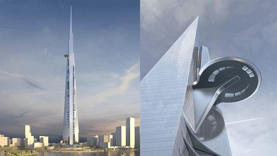 У Саудівській Аравії будують найвищу будівлю у світі