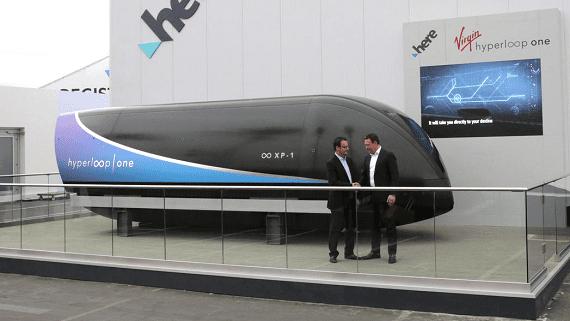 Тестовая площадка для Hyperloop в Днепре