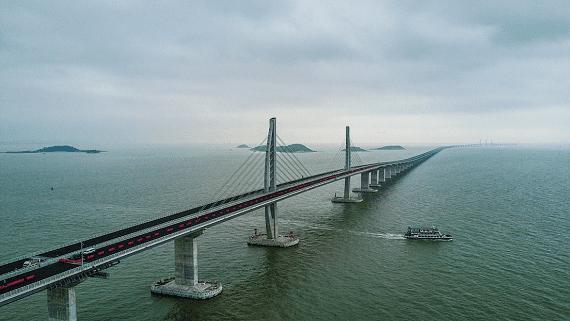 В Китае построен самый длинный в мире морской мост