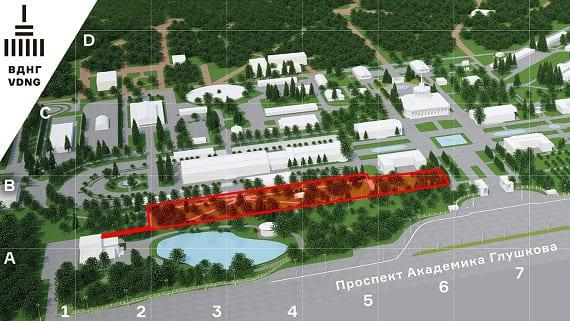 Новый ландшафтный парк на ВДНХ