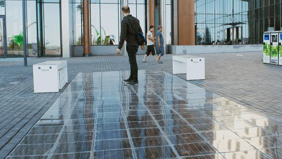 Створено тротуарне покриття здатне перетворювати сонячну енергію