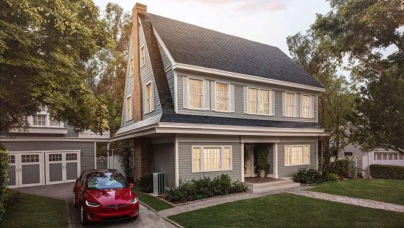 Солнечная крыша (solar roof) от компании Tesla