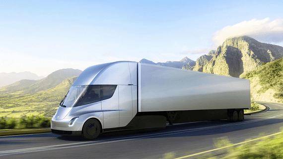 Електричні вантажівки Tesla Semi будуть використовуватися для вивозу сміття