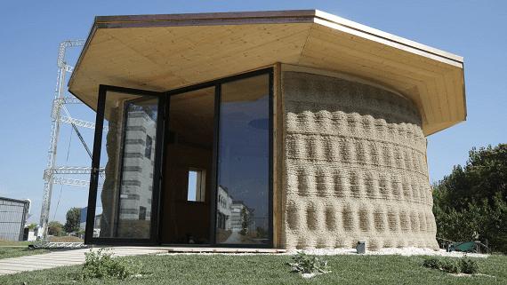 В Италии напечатали эко дом из грунта стоимостью 1000 $