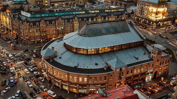 Здание Бессарабского рынка будут реставрировать