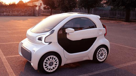 Планируется запуск массового производства электромобилей, напечатанных на 3D принтере