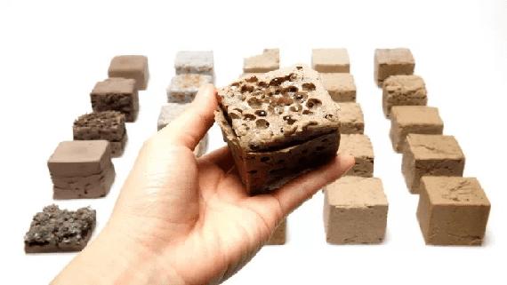 Представлен новый  экологический материал на замену бетону