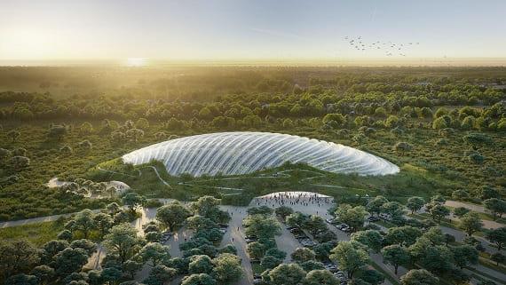 У Франції побудують найбільшу тропічну оранжерею
