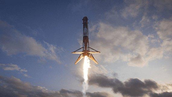 SpaceX втретє запустила одну й ту ж саму ракету Falcon 9