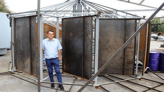 В Украине представлен прототип ГЭС не перекрывающей течение реки