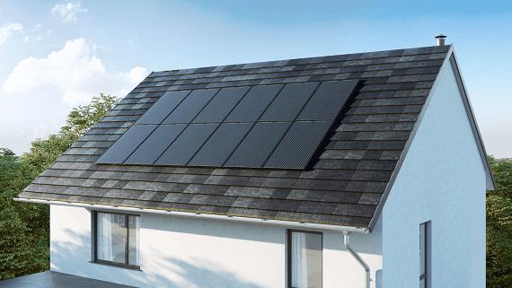 Nissan представила сонячний дах