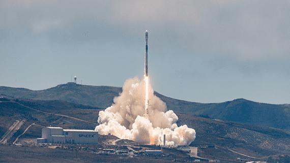 SpaceX запустила спутники Iridium® NEXT и GRACE-FO